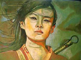 Zhang ziyi by dezz1977