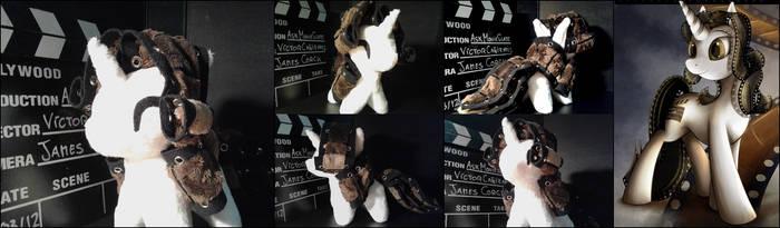 Chibi OC - Movie Slate by One-Violet-Rose