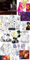 More Draws by Kundagi