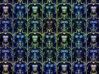 A very batman tesselation by Kundagi