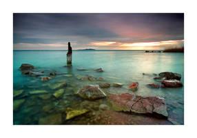 In my dream the Balaton by tempoka