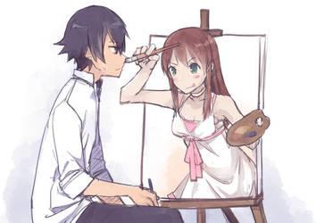 Drawing by Harutaka