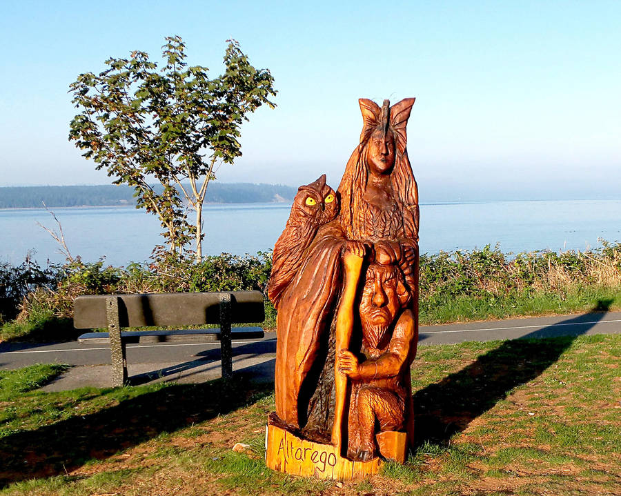 Altarego - Shoreline Park Wood Carving #4 by awesome43