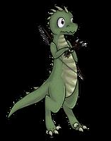 Teep The Dinosaur by Purrlstar