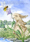 Helping the Honey Bee by art-paperfox