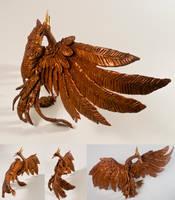 Copper Phoenix by art-paperfox