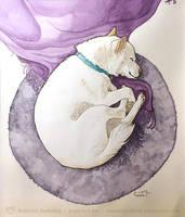 Goji Pet Portrait by art-paperfox