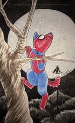 Spiderdog by art-paperfox