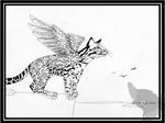 If Only I Could Fly by art-paperfox