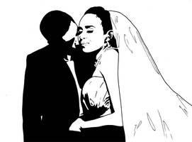 Wedding couple 1 by mrboomshot
