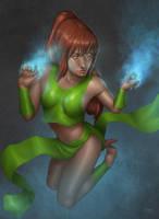 Alana, Hands of Wisdom by Deslaias