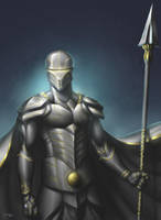 The Ghost Knight by Deslaias