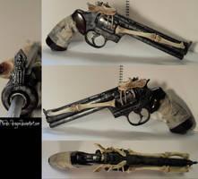 Bone gun by Nordic-Dragon