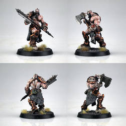 Grog Strongjaw Painted by Nordic-Dragon