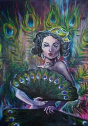 Queen of Russian burlesque-Lala Bezhetskaya by MeariDikki