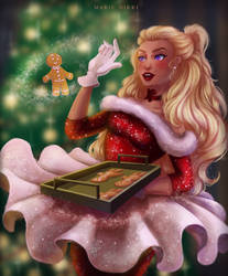 Christmas Rasel by MeariDikki
