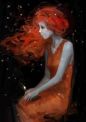 The Little Match Girl by aditya777