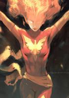 Dark Phoenix by aditya777