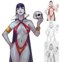 Vampirella by aditya777