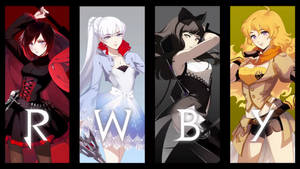 RWBY Full Poster by amac4you