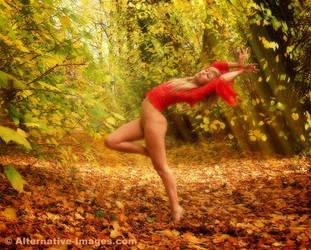 Autumnal Dancer by Alt-Images
