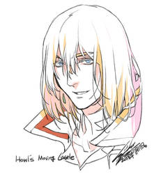 Scribble: Howl by kugelcruor