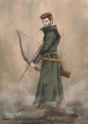 Archer - A Theory of Light and Dark by SebastianBecker