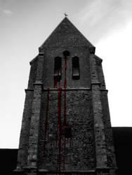 the bleeding church by hallein