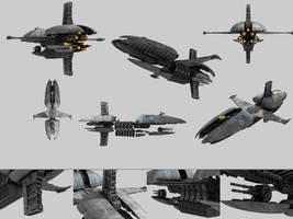 CIS Frigate Munificent Class from Star Wars EP3 by Enigmator