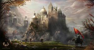 Ocean Castle by Joseph-C-Knight