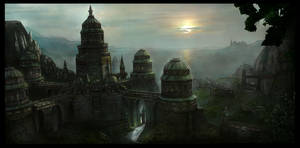 Arcane City by Joseph-C-Knight