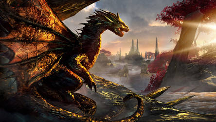 Dawn of Dragons by Joseph-C-Knight