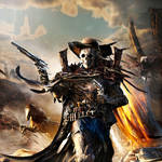 Scull Cowboy by Joseph-C-Knight