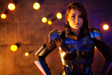 Mass Effect 3 N7 Armor (Femshep) by NaughtyZoot