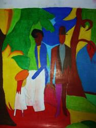 Leute am blauen See by NFlamel86