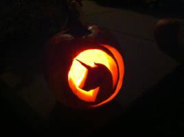 Nightmare Night Pumpkin 2012 by journcy