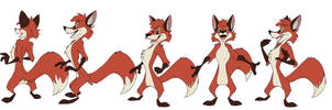 Fox character rotation by GregoryRoth