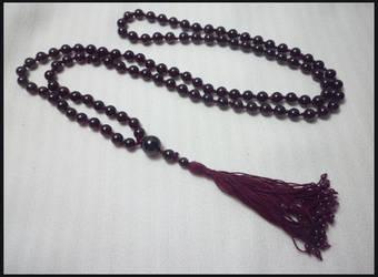 Garnet Prayer Beads by AMyriadVice