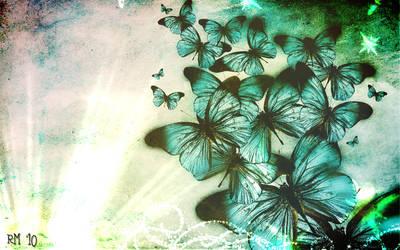 butterflys by u2becky