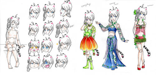 Update: Heartdoll MYO design contest: Evalyn by LonelyCatAngelKaty