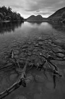 Jordan Pond, Maine by Brettc