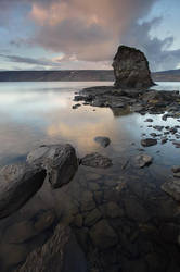 Around the lake,  Iceland by Brettc