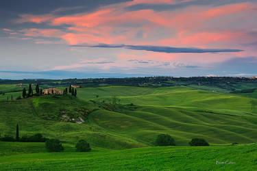 Last Light, Italy by Brettc