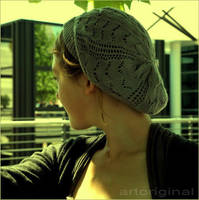 Girl in Hat by ArtOriginal