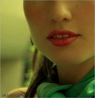 Lips Portrait. by ArtOriginal