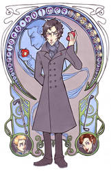 Sherlock - nouveau deduction by woodooferret