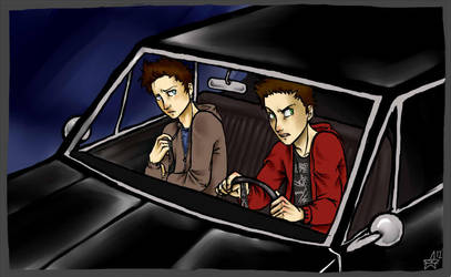 SPN - drive faster by woodooferret