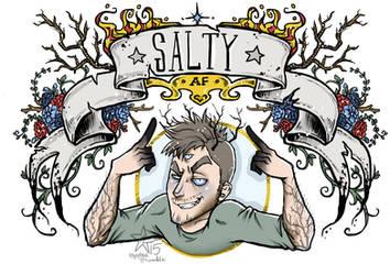 Salty AF - Tres by woodooferret