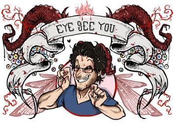 Eye See You - Oculus by woodooferret