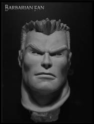 Captain America (Joe Madureira style) by BarbarianFanSculpt